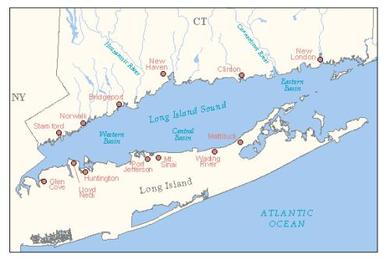 map of ct boat school green marine service area